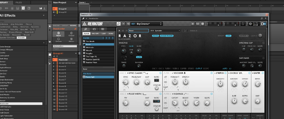 How to setup the Mouth as a vocal effect in Maschine 2 - Maschine ...
