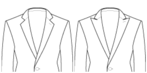 Moderate Lapels