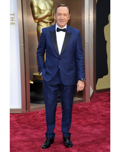 Kevin Spacey 2014 Oscars Red Carpet