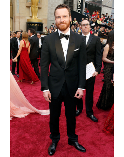 Michael Fassbender 2014 Oscars Red Carpet