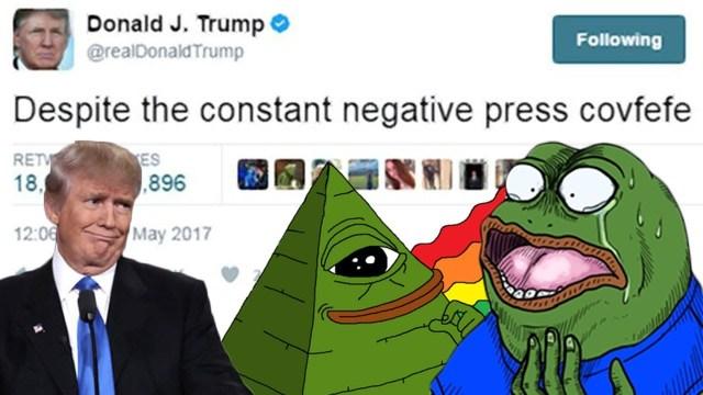 Donald Trump covfefe meme