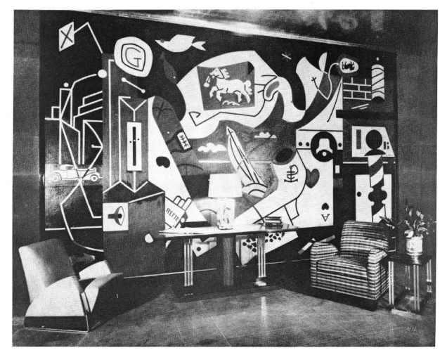 Men Without Women: Stuart Davis' 1932 Radio City Mural