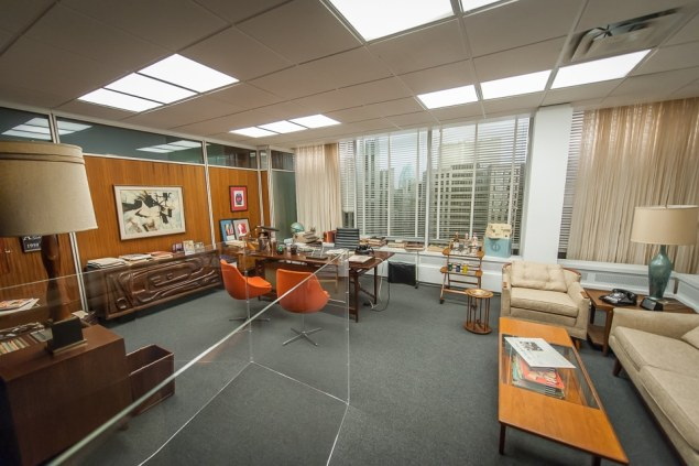 Step Into Don Draper's Office