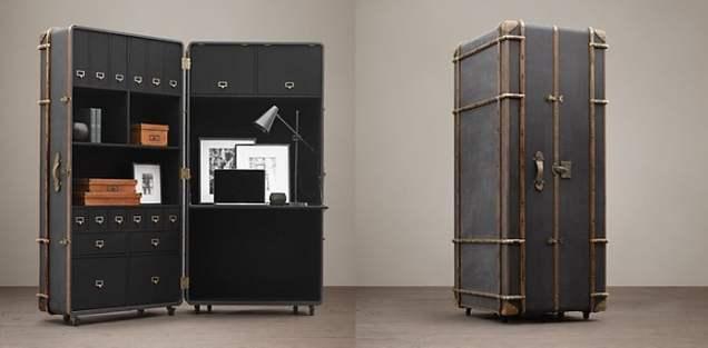 Big Box Retailer: Restoration Hardware's Steamer Trunk Secretary