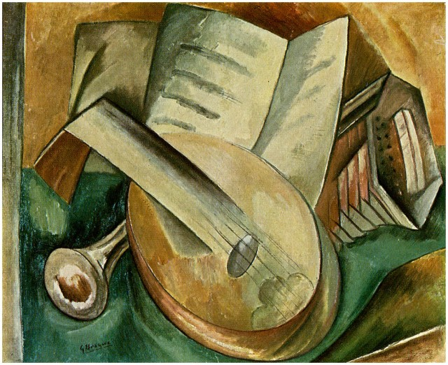 Image result for braque cubism paintings