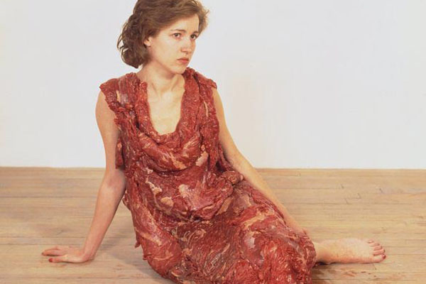 Jana Sterback. Flesh Dress, 1987