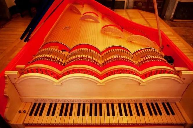 viola organista da vinci