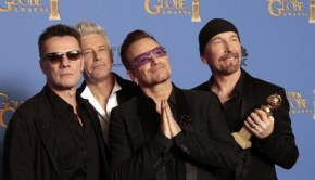U2 globos de oro 2014