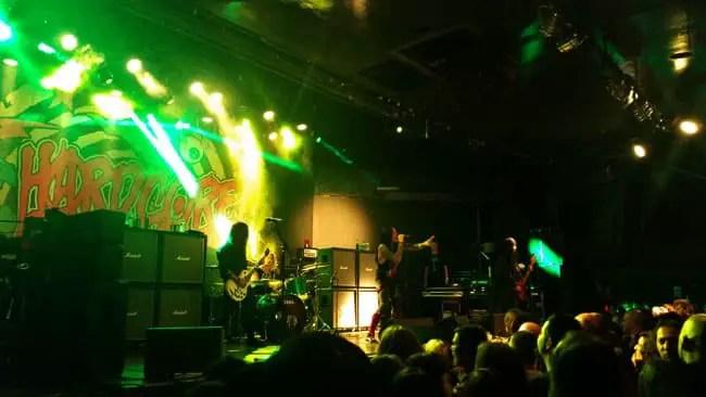 Hardcore Superstar en Madrid (La Riviera, 2014)