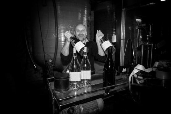 """MAS DES CAPRICES 2016 , Bottled Magnum """"Blanc de l'oeuf"""" vintage 2015 with Pierre Mann,"""