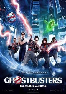 Il poster italiano di Ghostbusters (2016)