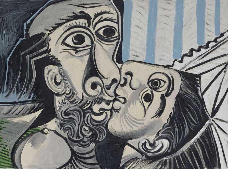 Pablo Picasso, Il bacio (26 ottobre 1969), oParis, Musée National Picasso - Photo (c) Succession Picasso, by SIAE 2018