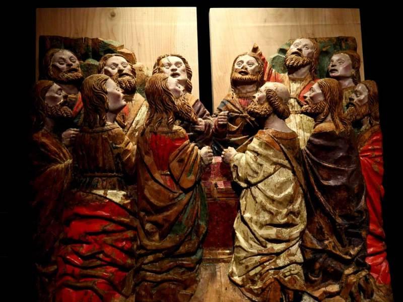 Il Rinascimento nelle terre ticinesi 2: Giovanni Pietro De Donati e Giovanni Ambrogio De Donati, Assunzione della Vergine - Foto: MaSeDomani