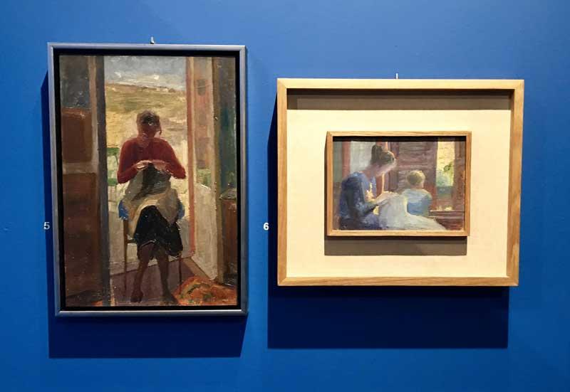 Carlo Basilico dipinti in mostra - Photo by MaSeDomani