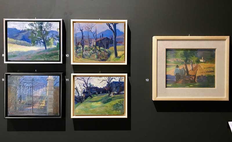 Alcune opere di Carlo Basilico in mostra a Rancate - Photo by MaSeDomani