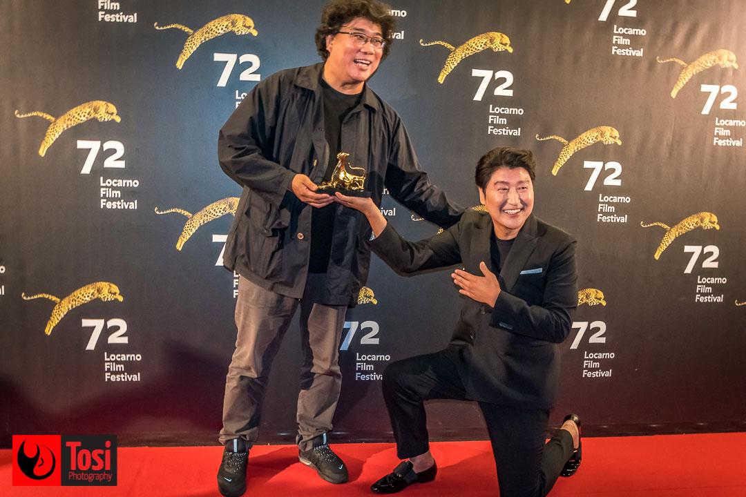 BONG Joon-ho e SONG Kang-ho sul red carpet © Tosi Photography