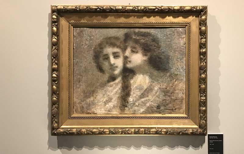 Daniele Ranzoni, Maude Branscombe e Marie Chester (1888-1889) – Photo: MaSeDomani