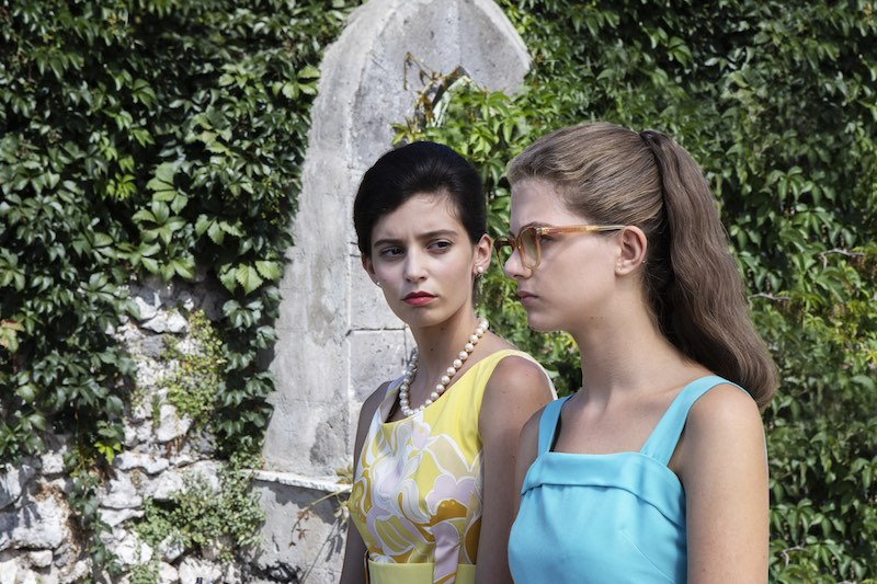 Gaia Girace e Margherita Mazzucco sono le protagoniste de L'Amica Geniale 2 episodi 3 e 4 - Foto di Eduardo Castaldo.
