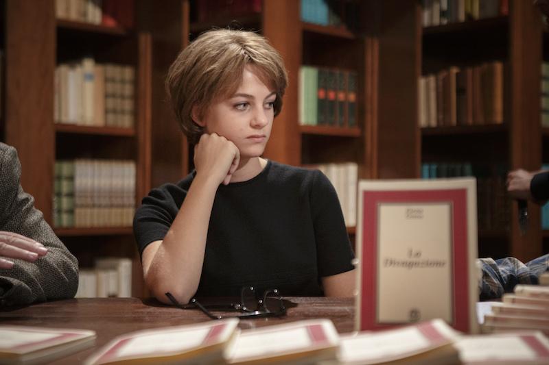 Margherita Mazzucco ne L'Amica Geniale 2, episodio finale. Photo by Eduardo Castaldo