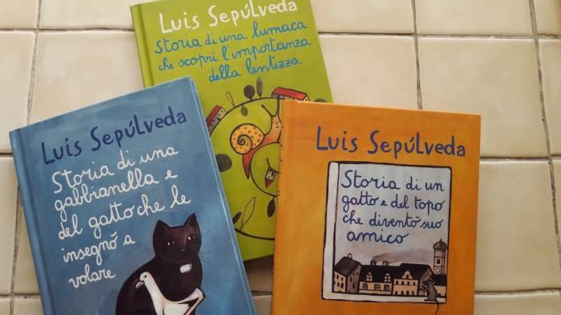 Luis Sepulveda copertine libri