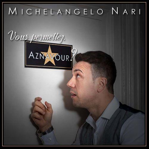 La copertina del Cd di Michelangelo Nari.Grafica della copertina del disco: Fabio Mereghetti