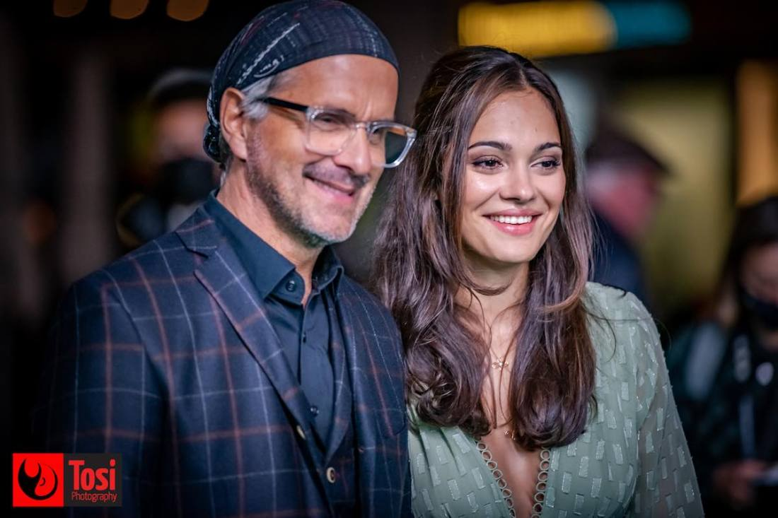 ZFF 2020 - actor Christoph Maria Herbst and actress Nilam Farooq © Tosi Photography