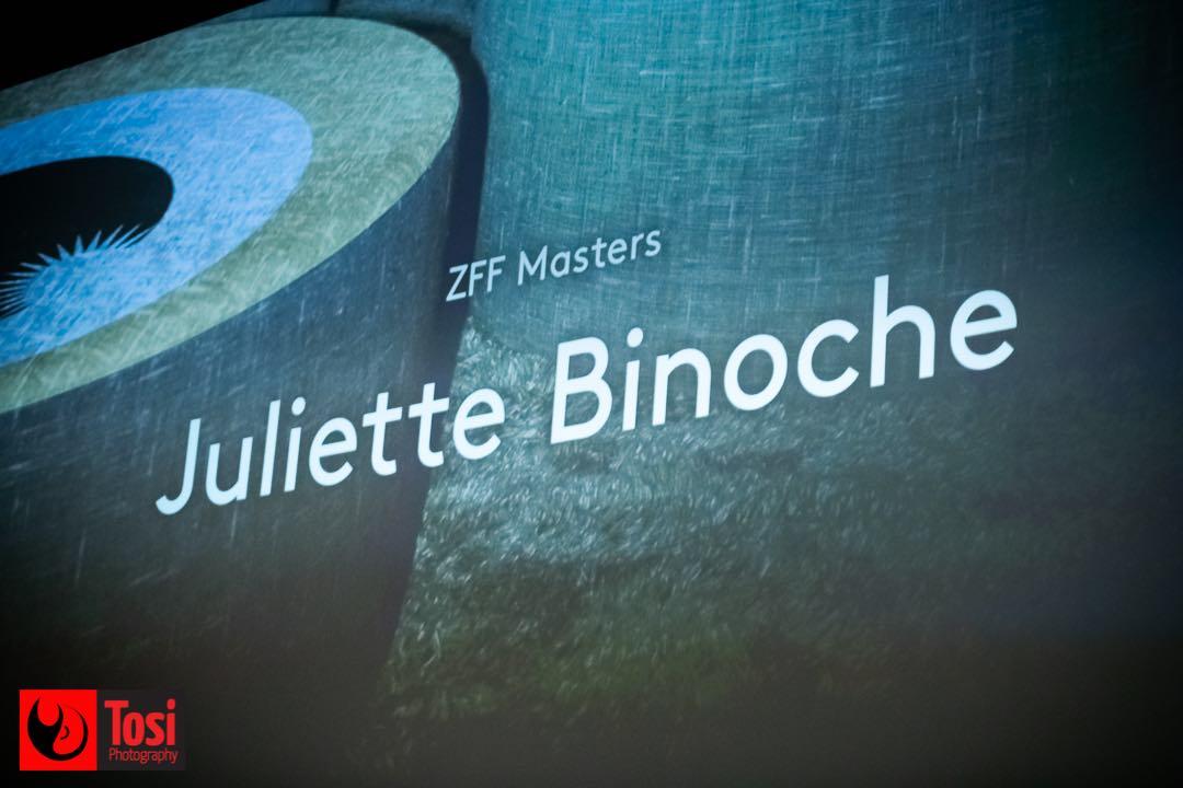 ZFF 2020 - Masterclass with Juliette Binoche © Tosi Photography