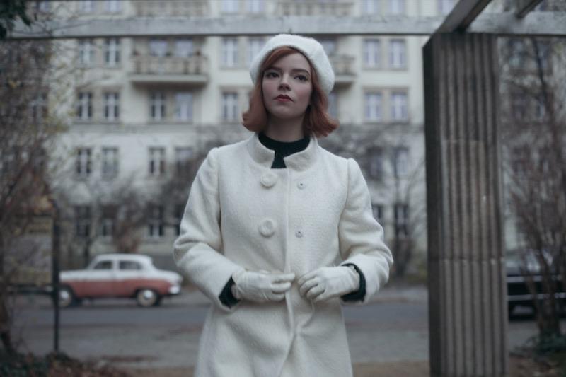ANYA TAYLOR-JOY in una scena della miniserie The Queen of Gambit. Cr. COURTESY OF NETFLIX © 2020