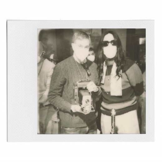 Gucci Ouverture - POLAROID. Photo by Paige Powell