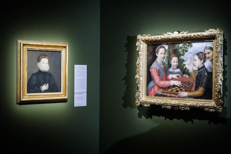 Sofonisba Anguissola in mostra a Palazzo Reale. Foto: Gianfranco Fortuna per Arthemisia.
