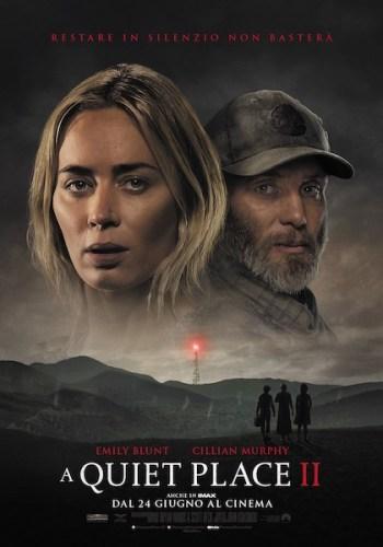 poster italiano del film A Quiet Place 2