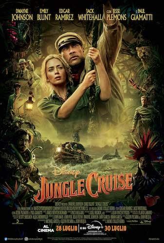 Jungle Cruise poster ita