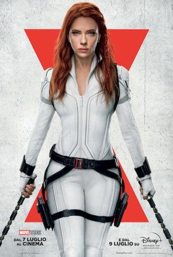 Black Widow poster ita