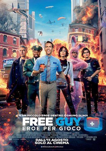 Free Guy - poster ita