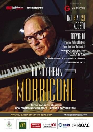 Nuovo Cinema Morricone poster mostra Treviglio