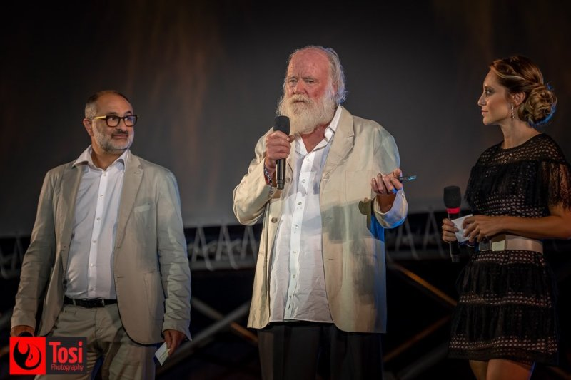 Phil Tippett in Piazza Grande©Tosi Photography