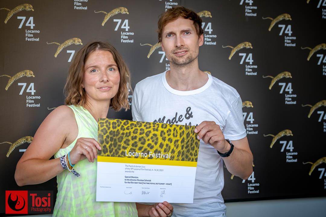 Vincitori Locarno 2021, menzione speciale a Nicolaas Schmidt (Film First Time) © Tosi Photography.