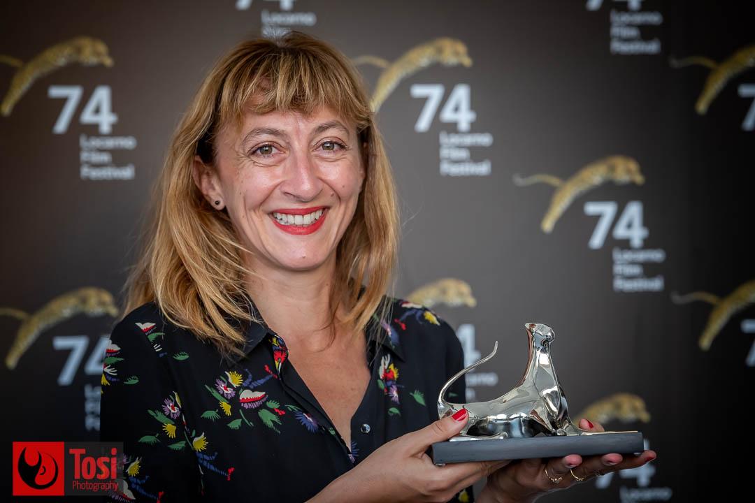 Vincitori Locarno 2021, premio speciale della giuria CINEPLUS a Emilie Aussel (Film L'Eté l'éternité) © Tosi Photography.