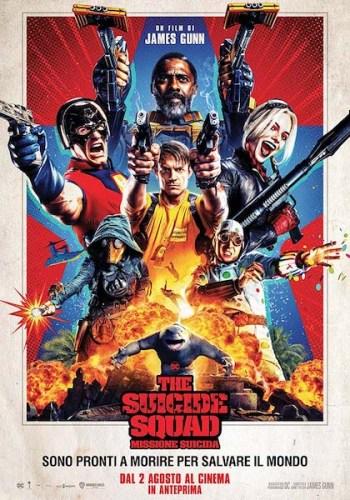 The suicide Squad - Missione Suicida poster film