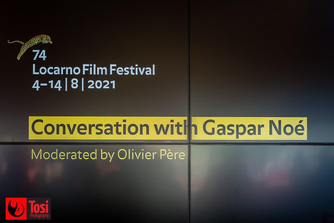 Tosi Photography - Locarno 2021 - Conversation with Gaspar Noé 1