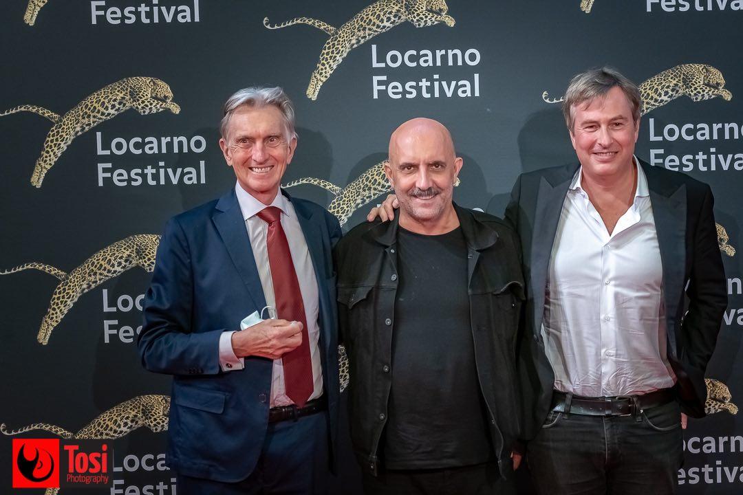 Tosi Photography-Locarno 2021-Piazza Grande-Marco Solari-Gaspar Noé-Olivier Père
