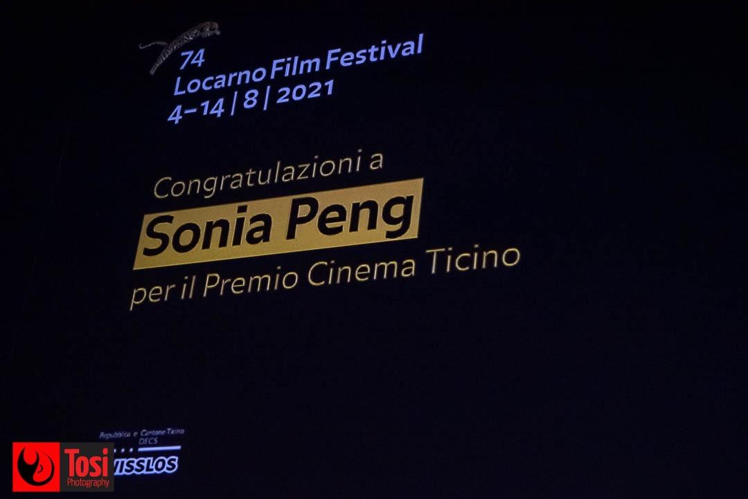 Tosi Photography-Locarno 2021-Premio Cinema Ticino a Sonia Peng 2