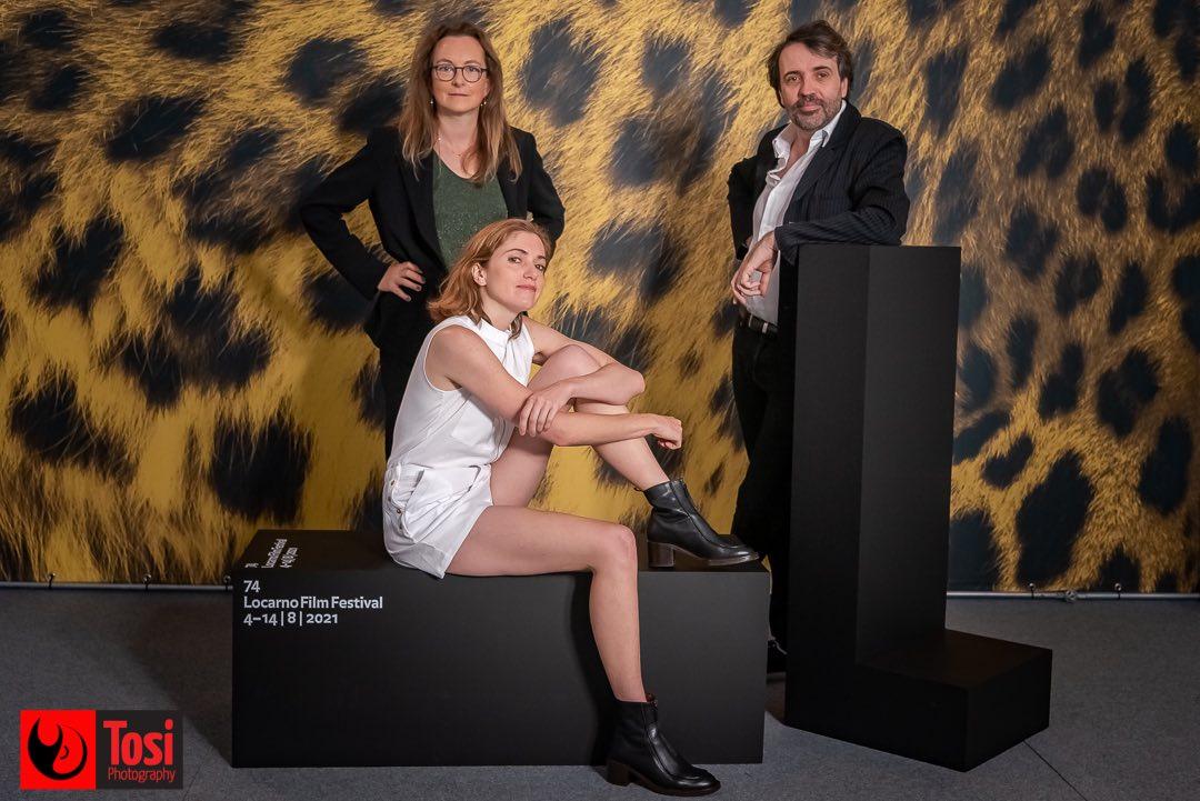 Tosi Photography-Locarno 2021-photocall film La place d'une autre cast n director