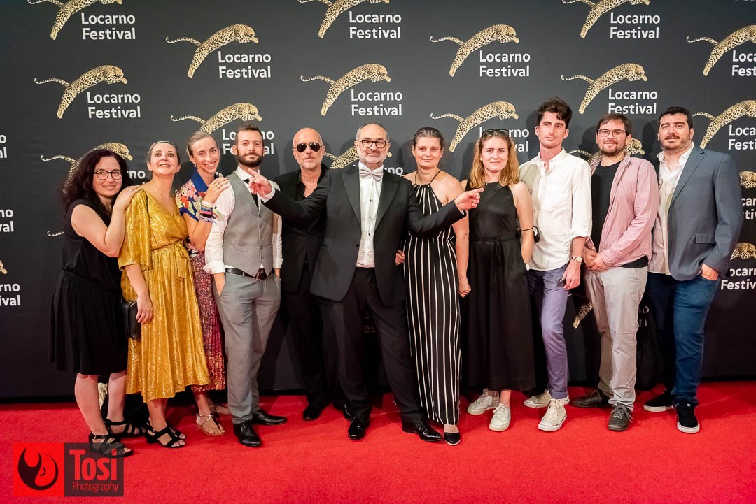 Tosi Photography-Locarno 2021-red carpet closing ceremony - Giona A. Nazzaro and the Artistic Selection