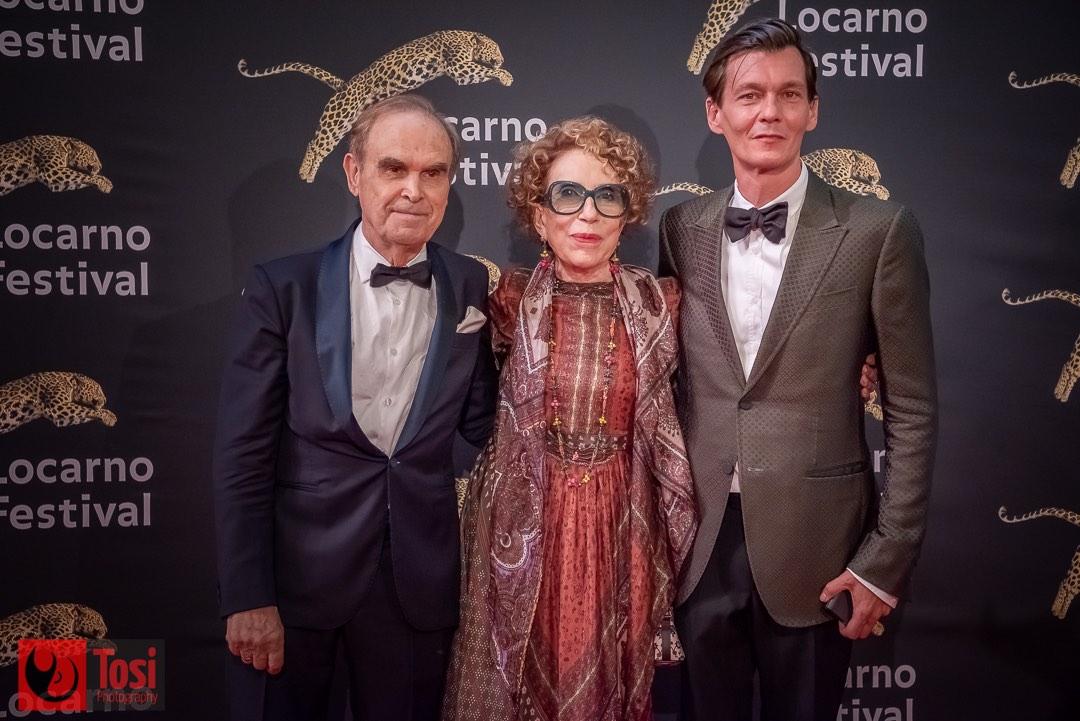 Tosi Photography-Locarno 2021-red carpet film 100 minutes-Gleb Panfilov,Filipp Yankovsky,Inna Churikova,Maksim Panfilov