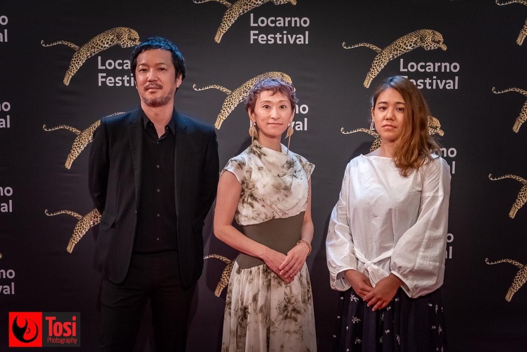 Tosi Photography-Locarno 2021-red carpet film BELLE by Memoro Hosada represented by President of studios Chizu-Yuka Saito