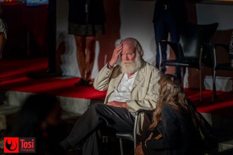 Locarno 74, Phil Tippett in Piazza Grande © Tosi Photography.