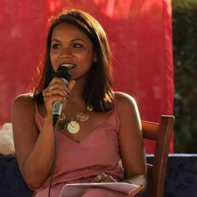 Sachita Corvi, autrice del libro L'agrodolce ricordo dei colori.