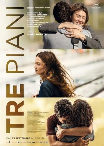 Tre Piani locandina film
