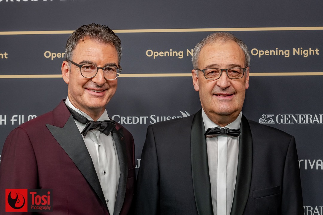ZFF2021 - Opening Night - Artistic Director of ZFF Christian Jungen and President of Switzerland Guy Parmelin © Tosi Photography